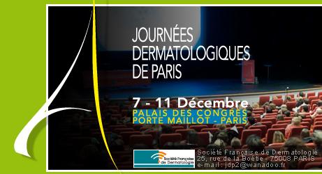 Journées dermatologiques de Paris 7-11 décembre 2010