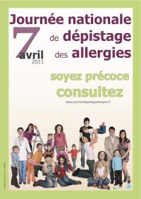 Journée de dépistage des allergies: le 7 avril 2011
